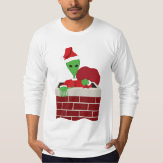 Christmas Extra-Terrestrial T Shirts