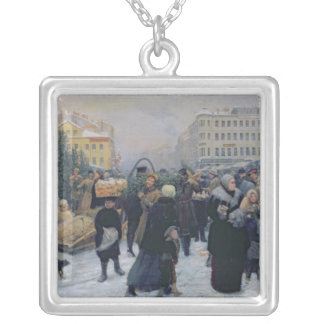 Christmas Fair Silver Plated Necklace