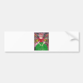 Christmas Fairy Bumper Stickers