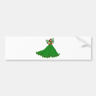 Christmas Fairy Bumper Sticker