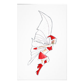 Christmas Fairy Personalized Stationery