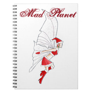 Christmas Fairy Spiral Notebook