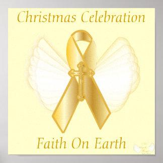 Christmas Faith On Earth-Customize Print