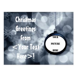 CHRISTMAS FAMILY FRIENDLY ORNAMENT v.2 ~ Postcard