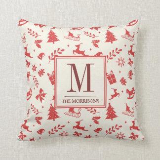 Monogram Cushions