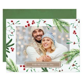 Christmas Family Photo Greeting Card