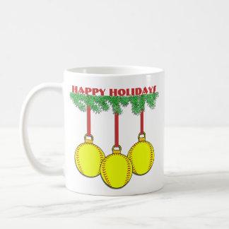 Christmas Fastpitch Softball Mug