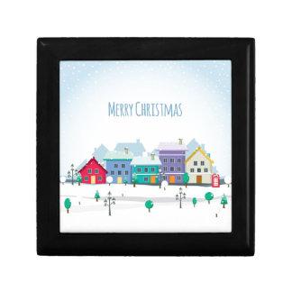 Christmas Feelings Small Square Gift Box