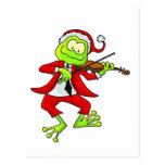 Christmas Fiddle Frog