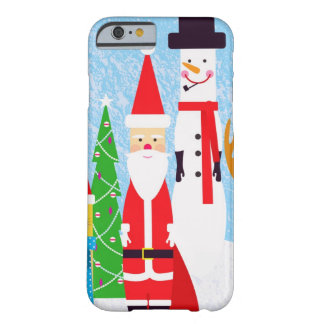 Christmas Figures Barely There iPhone 6 Case