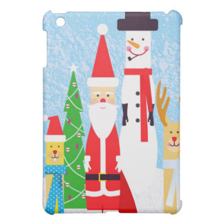 Christmas Figures Cover For The iPad Mini