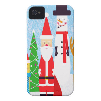 Christmas Figures iPhone 4 Covers