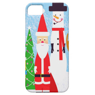 Christmas Figures iPhone 5 Covers
