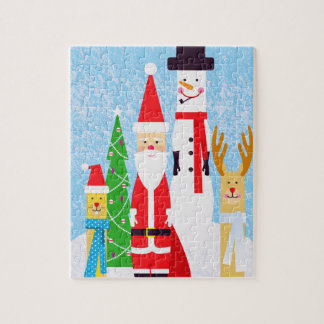 Christmas Figures Jigsaw Puzzle