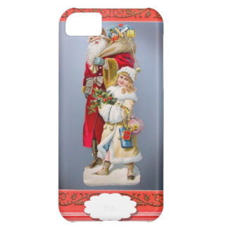 Christmas figurines iPhone 5C case