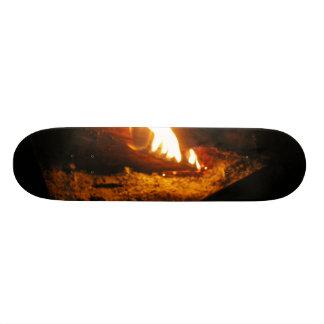 Christmas Fire Skateboard