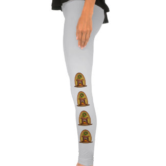 Christmas fireplace clipart legging tights