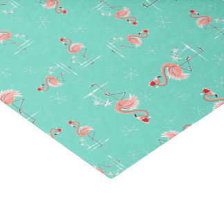 Christmas Flamingo Twist tissue paper