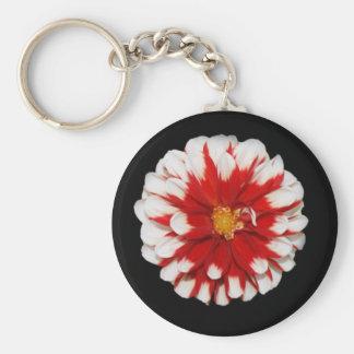 Christmas Flower Keychain Stocking Stuffer