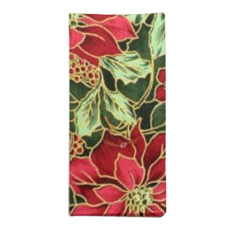 Christmas Flower pattern napkin