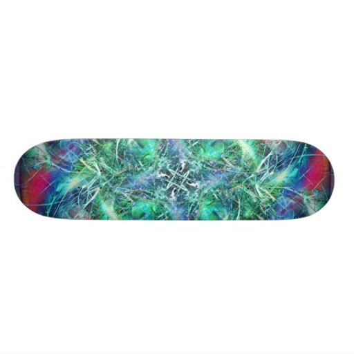 Christmas Flower Skate Board