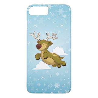 Christmas Flying Reindeer iPhone 7 Plus Case