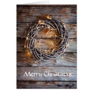 Christmas folded card