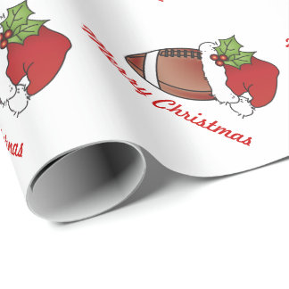 Christmas Football Wrapping Paper