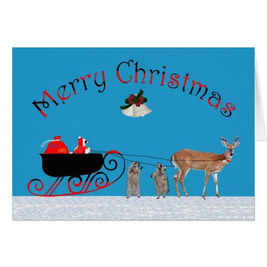 Christmas For Anyone Greeting Card