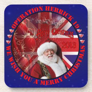 Christmas for Operation Herrick 19 Cocktail Untersetzer