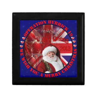 Christmas for Operation Herrick 19 Geschenkbox