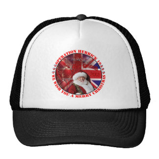 Christmas for operation Herrick 19 Mesh Hats