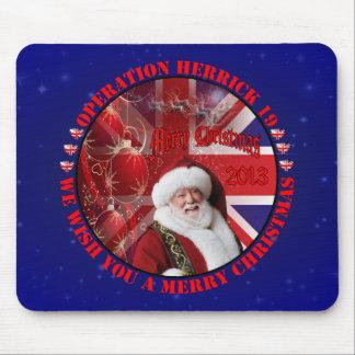 Christmas for Operation Herrick 19 Mousepad