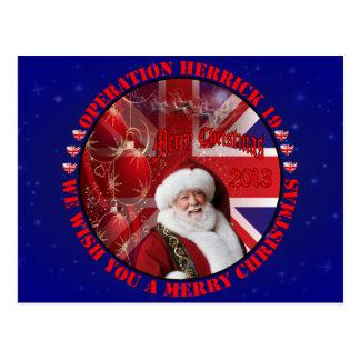 Christmas for Operation Herrick 19 Postkarten