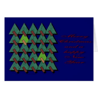 """""""Christmas Forest"""" Christmas card by Zoltan Buday"""