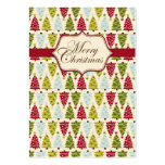 Christmas Forest Gift Tag 2 Pack Of Chubby Business Cards