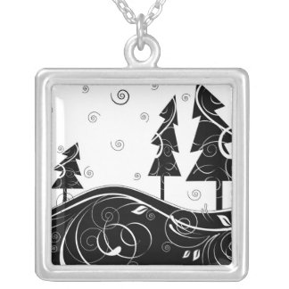 Christmas Forest Pendant
