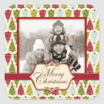 Christmas Forest Photo Sticker