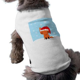 Christmas fox shirt