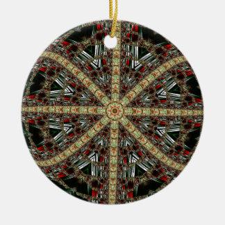 Christmas Fractal 7 Ornament