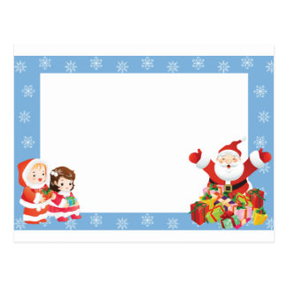 Christmas Frame (add photo) Post Cards