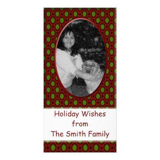 Christmas frame customized photo card