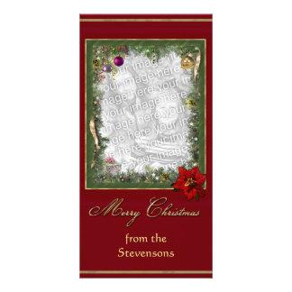 Christmas Frame Photo Greeting Card