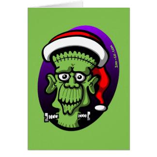 Christmas Frankenstein Card