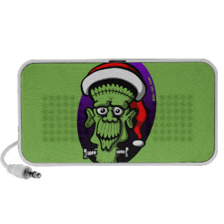 Christmas Frankenstein Portable Speakers
