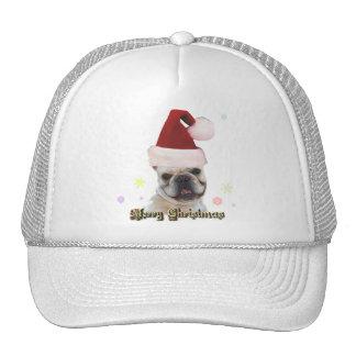 Christmas french bulldog hat