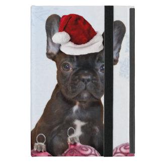 Christmas French Bulldog iPad Mini Cases