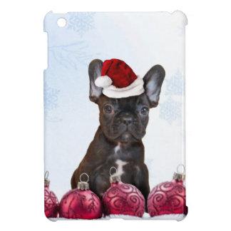 Christmas French Bulldog iPad Mini Cover