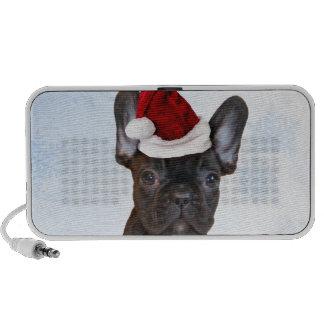 Christmas French Bulldog Speakers