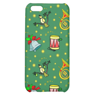 Christmas, French Horns and Magenta Drums iPhone 5C Cases